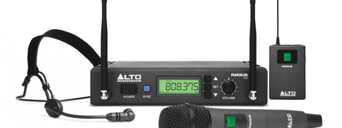 Alto Professional Introduces New Radius Family of Wireless Microphones