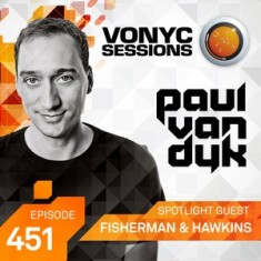 Paul Van Dyk – Vonyc Sessions 451 (with Fisherman and Hawkins) – 18-APR-2015