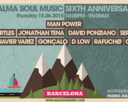ALMA SOUL MUSIC celebrates its 6th anniversary with an Off Week event in Barcelona and announces a new vinyl release.