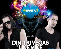 DIMITRI VEGAS & LIKE MIKE will headline the EDM zone of this second edition of 4EVERY1 FESTIVAL.