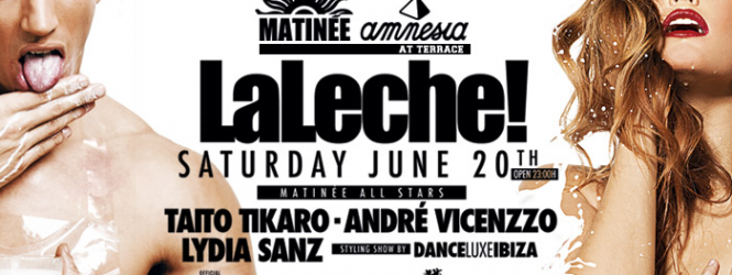The white tide will flood Matinée Ibiza!