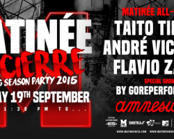 Matinée Ibiza Closing Party 2015